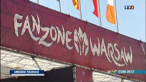 J-1 avant l'Euro : Varsovie se prépare pour le show