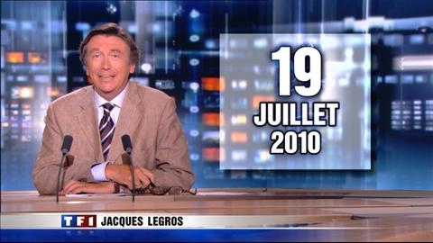 Le 13 heures du 19 juillet 2010