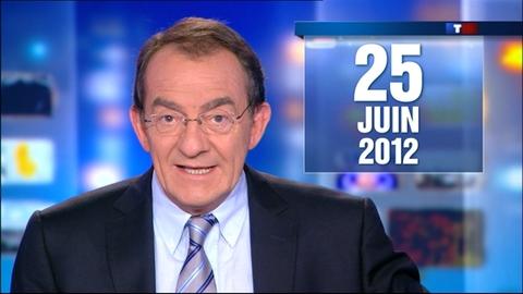 Le 13 heures du 25 juin 2012