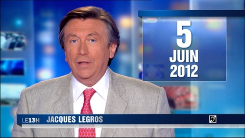 Le 13 heures du 5 juin 2012