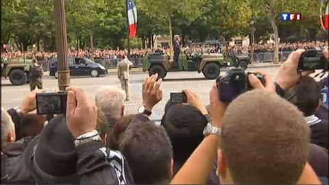 14 juillet : des dizaines de milliers de spectateurs pour le défilé
