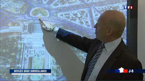 Un 1er mai sous haute surveillance à Paris