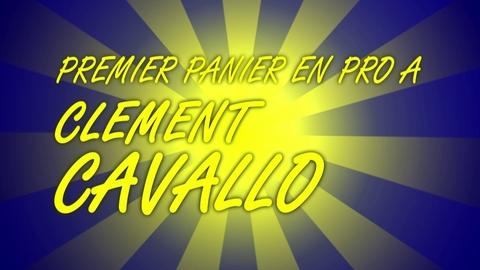 1er panier proA de Clément Cavallo