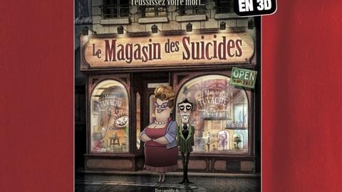 24 juillet 2012 LE MAGASIN DES SUICIDES en 3D et en avant-première