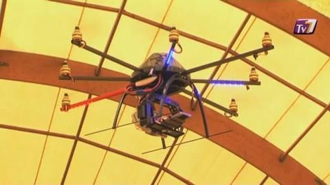 3D Copter : Drôle de Drone à l'ESIEE
