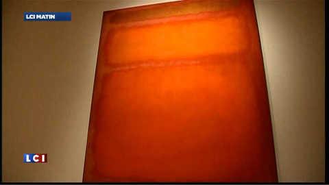 87 millions de dollars pour le tableau orange de Rothko
