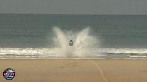 L'abandon poignant d'un motard du Dakar
