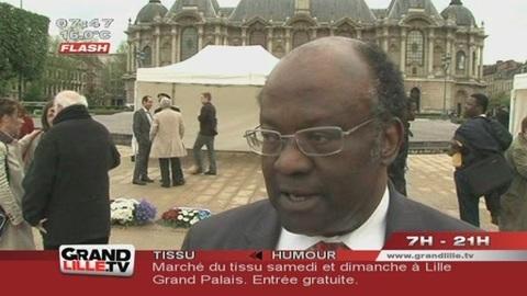 Abolition de l'Esclavage : Cérémonie à Lille