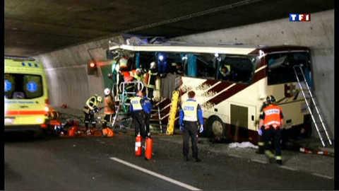 Accident de car en Suisse : 28 personnes tuées dont 22 enfants
