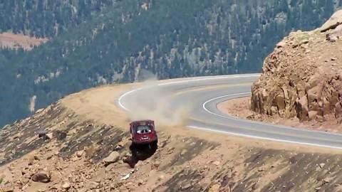 Accident impressionnant à Pikes Peak