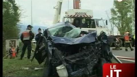 Accident meurtrier à Chambéry