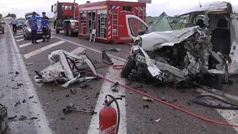 Accident mortel à Savières