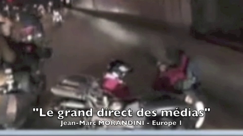 L'accident d'un motard de France 2, le soir de l'élection de Hollande, provoque la polémique