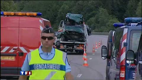 Accident de la route meurtrier sur l'A20