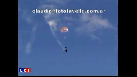 Accident spectaculaire d'avion lors d'un show aérien en Argentine