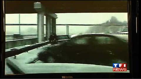 Accident sur une autoroute verglacée aux Etats-Unis