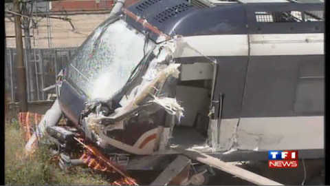 Accident de train à Naples : les images