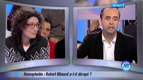Accusé d'homophobie, Robert Ménard s'explique chez Morandini! sur Direct8