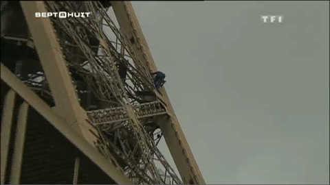 Les acrobates de la Tour Eiffel