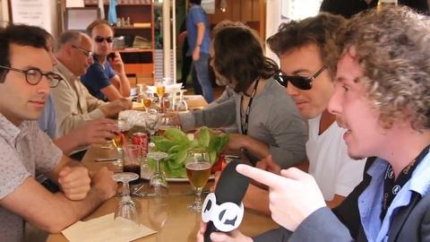Action discrète en Interview - Festival de Cannes 2011
