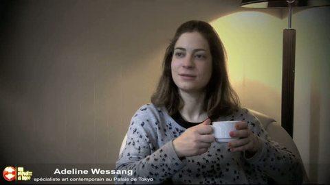 Adeline Wessang - l'anecdote dans l'ascenseur