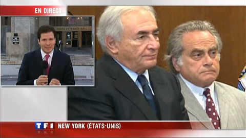 Affaire DSK : les explications de l'envoyé spécial de TF1