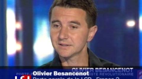"""Affaire d'espionnage: """"surprise et révolte"""" de Besancenot"""
