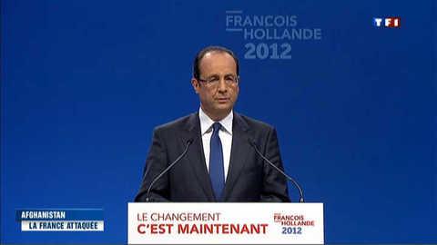 Afghanistan : Hollande veut un retrait des troupes françaises fin 2012