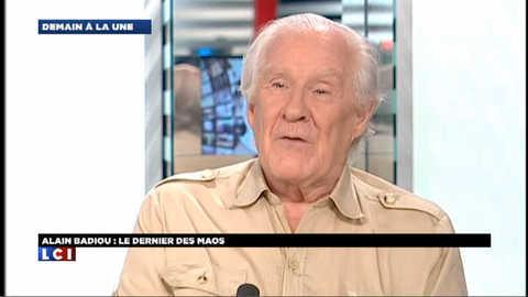 "Alain Badiou : ""Hollande nous fera cadeau d'un capitalisme fleuri"""