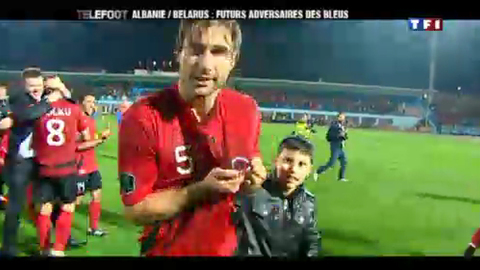 L'Albanie vue par Lorik Cana (27/03/2011)