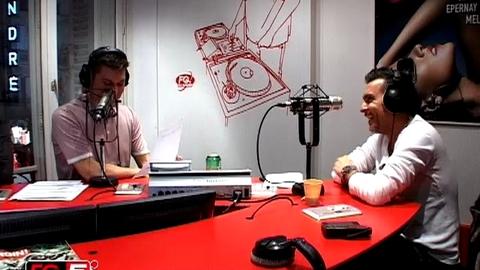 ALEX GAUDINO EN INTERVIEW CHEZ  RADIO FG
