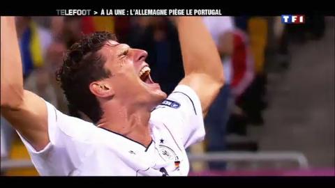 A la une : l'Allemagne piège le Portugal (10/06/2012)