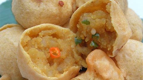 Aloo kofta Boules de pommes de terre indiennes