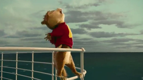 Alvin and the Chipmunks Chipwrecked - Parodie de Titanic