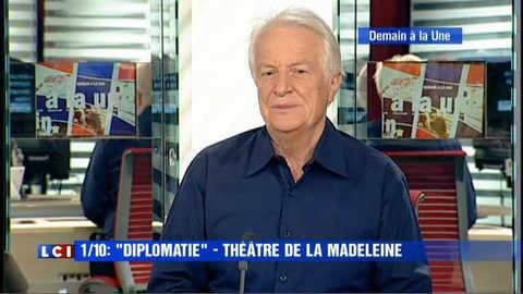 """André Dussollier """"Demain à la Une"""""""