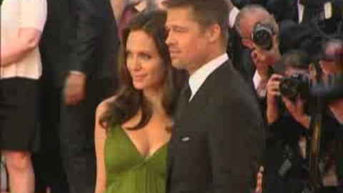 Angelina Jolie, Brad Pitt... Montée des marches Kung Fu Panda