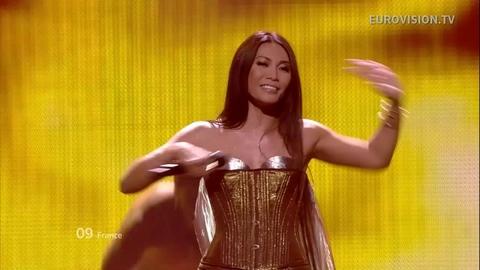 Anggun à l'Eurovision