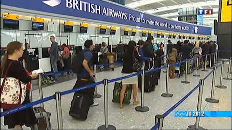 Les Anglais fuient les JO 2012