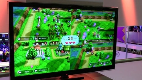 Animal Crossing Sweet Day : E3 2012 gameplay !