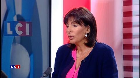 Anne Hidalgo sur LCI