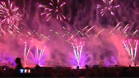 A Annecy, le plus grand feu d'artifice d'Europe