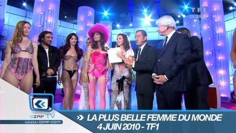 """L'annonce de la """"Plus belle femme du monde"""" sur TF1"""