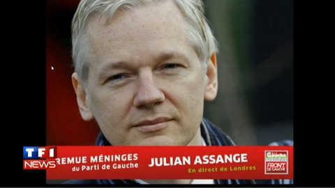 """Assange au meeting de Mélenchon : """"la France a été un pays important"""""""