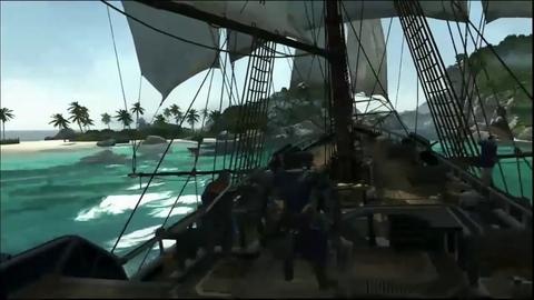 Assassin's Creed 3 - Gameplay sur un navire de combat de l'E3 2012