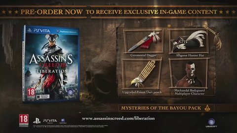 Assassin's Creed III : Liberation - Version longue du trailer d'annonce