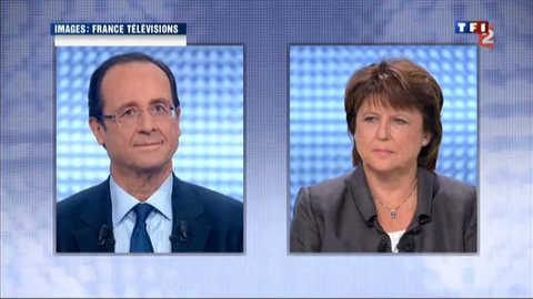 Aubry-Hollande : un dernier débat sans dérapage