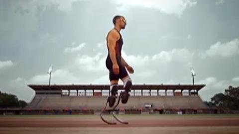 Aux JO, un handicapé courra avec les valides
