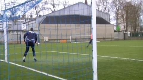 L'avant match Troyes-Laval (Foot L2)
