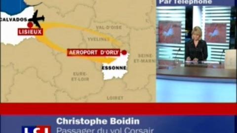 Avion ayant touché le tarmac : un passager raconte