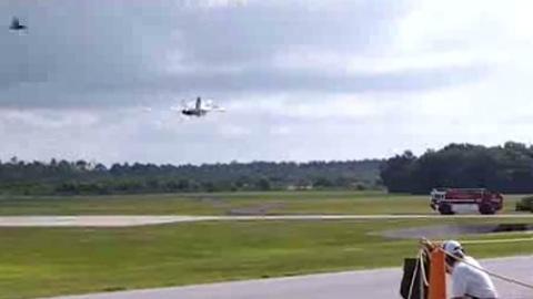 Avion crash piste courte